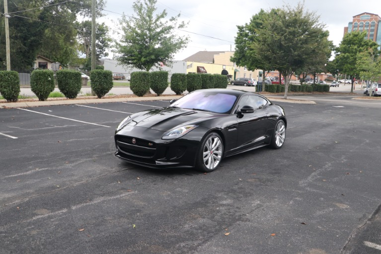Used 2017 Jaguar F-TYPE S COUPE for sale Sold at Auto Collection in Murfreesboro TN 37130 2
