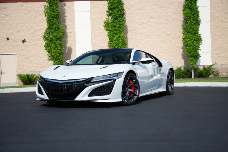 Used 2017 Acura NSX SH AWD Sport Hybrid 2dr Coupe for sale Sold at Auto Collection in Murfreesboro TN 37130 3