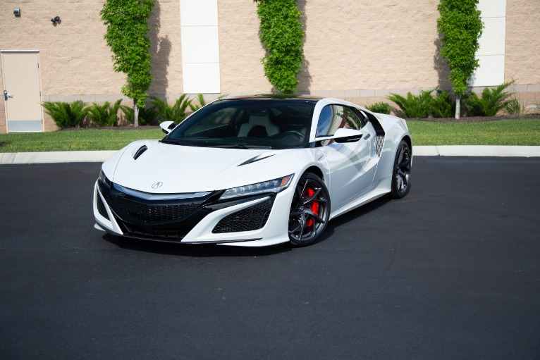 Used 2017 Acura NSX SH AWD Sport Hybrid 2dr Coupe for sale Sold at Auto Collection in Murfreesboro TN 37130 7