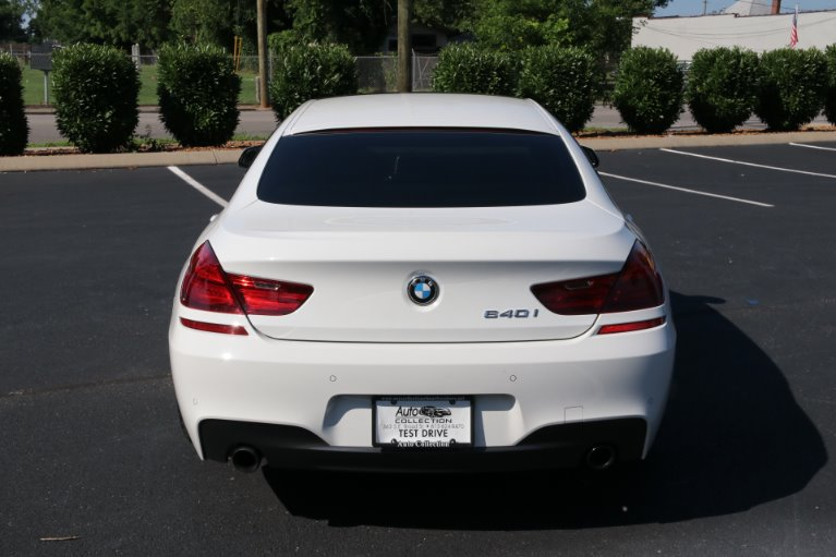 Used 2016 BMW 6 Series 640i Gran Coupe for sale Sold at Auto Collection in Murfreesboro TN 37130 6