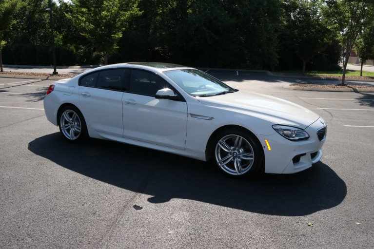 Used 2016 BMW 6 Series 640i Gran Coupe for sale Sold at Auto Collection in Murfreesboro TN 37130 1