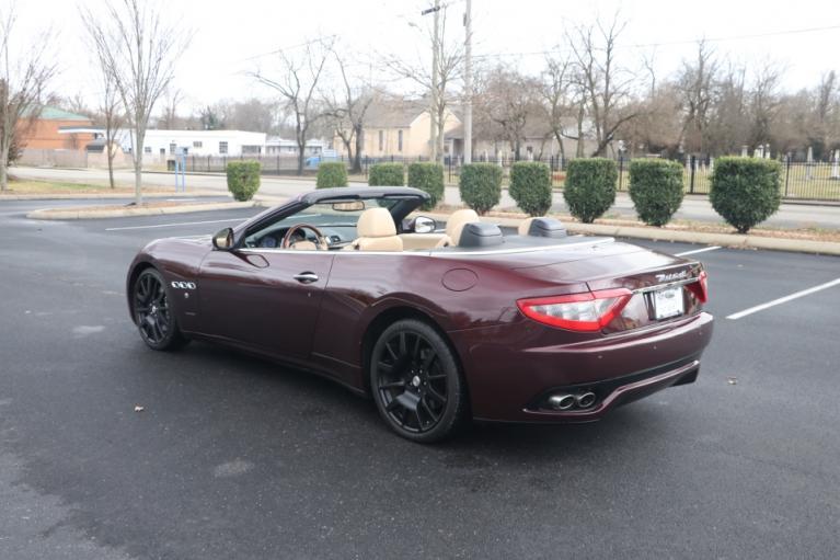 Used 2011 Maserati GRANTURISMO S CONVERTIBLE RWD CONVERTIBLE for sale Sold at Auto Collection in Murfreesboro TN 37130 4