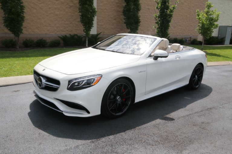 Used 2017 Mercedes-Benz S63 AMG Convertible AWD W/NAV AMG S 63 for sale Sold at Auto Collection in Murfreesboro TN 37129 2