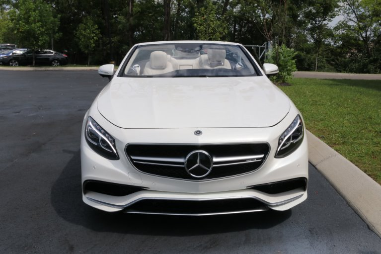Used 2017 Mercedes-Benz S63 AMG Convertible AWD W/NAV AMG S 63 for sale Sold at Auto Collection in Murfreesboro TN 37130 5