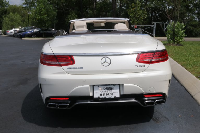 Used 2017 Mercedes-Benz S63 AMG Convertible AWD W/NAV AMG S 63 for sale Sold at Auto Collection in Murfreesboro TN 37130 6