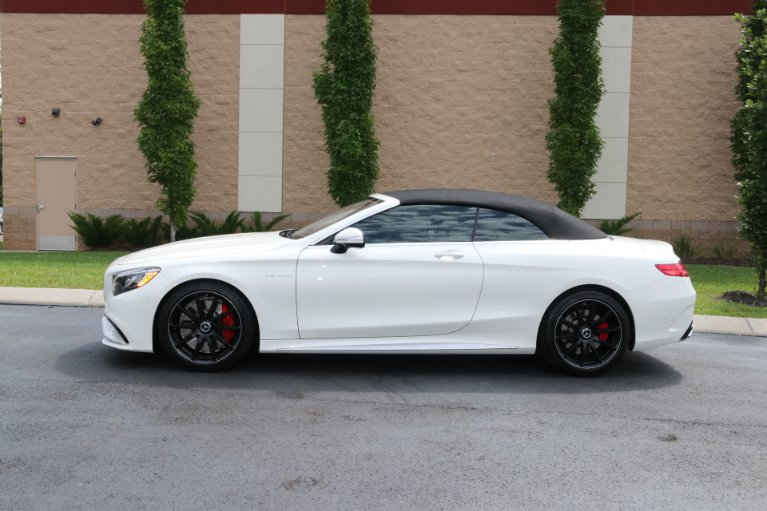 Used 2017 Mercedes-Benz S63 AMG Convertible AWD W/NAV AMG S 63 for sale Sold at Auto Collection in Murfreesboro TN 37130 7