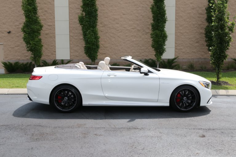 Used 2017 Mercedes-Benz S63 AMG Convertible AWD W/NAV AMG S 63 for sale Sold at Auto Collection in Murfreesboro TN 37130 8