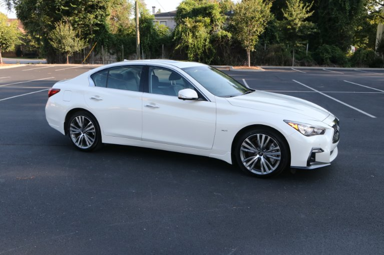 Used 2019 INFINITI Q50 3.0T Sport for sale Sold at Auto Collection in Murfreesboro TN 37130 1