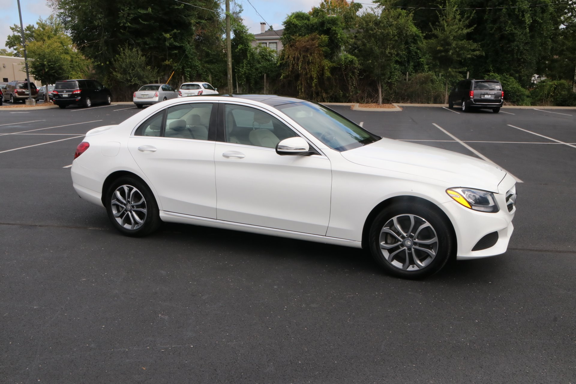 Used 2016 Mercedes-Benz C-Class C 300 Sport 4MATIC for sale Sold at Auto Collection in Murfreesboro TN 37129 1