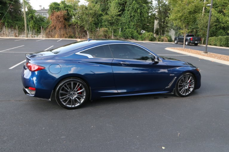 Used 2017 INFINITI Q60 Red Sport 400 for sale Sold at Auto Collection in Murfreesboro TN 37130 3