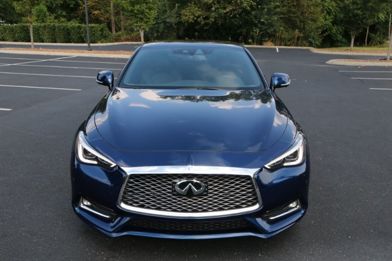 Used 2017 INFINITI Q60 Red Sport 400 for sale Sold at Auto Collection in Murfreesboro TN 37130 5