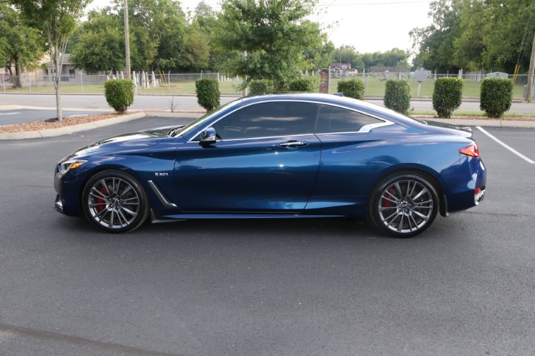 Used 2017 INFINITI Q60 Red Sport 400 for sale Sold at Auto Collection in Murfreesboro TN 37130 7