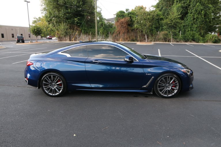 Used 2017 INFINITI Q60 Red Sport 400 for sale Sold at Auto Collection in Murfreesboro TN 37130 8