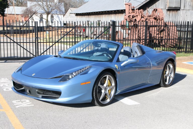 Used 2015 Ferrari 458 ITALIA SPIDER for sale Sold at Auto Collection in Murfreesboro TN 37130 2