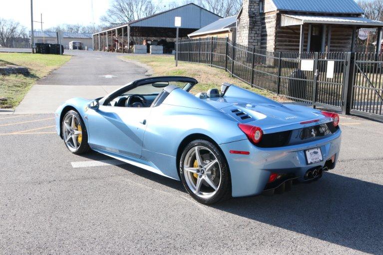 Used 2015 Ferrari 458 ITALIA SPIDER for sale Sold at Auto Collection in Murfreesboro TN 37130 4