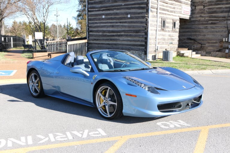 Used 2015 Ferrari 458 ITALIA SPIDER for sale Sold at Auto Collection in Murfreesboro TN 37130 1