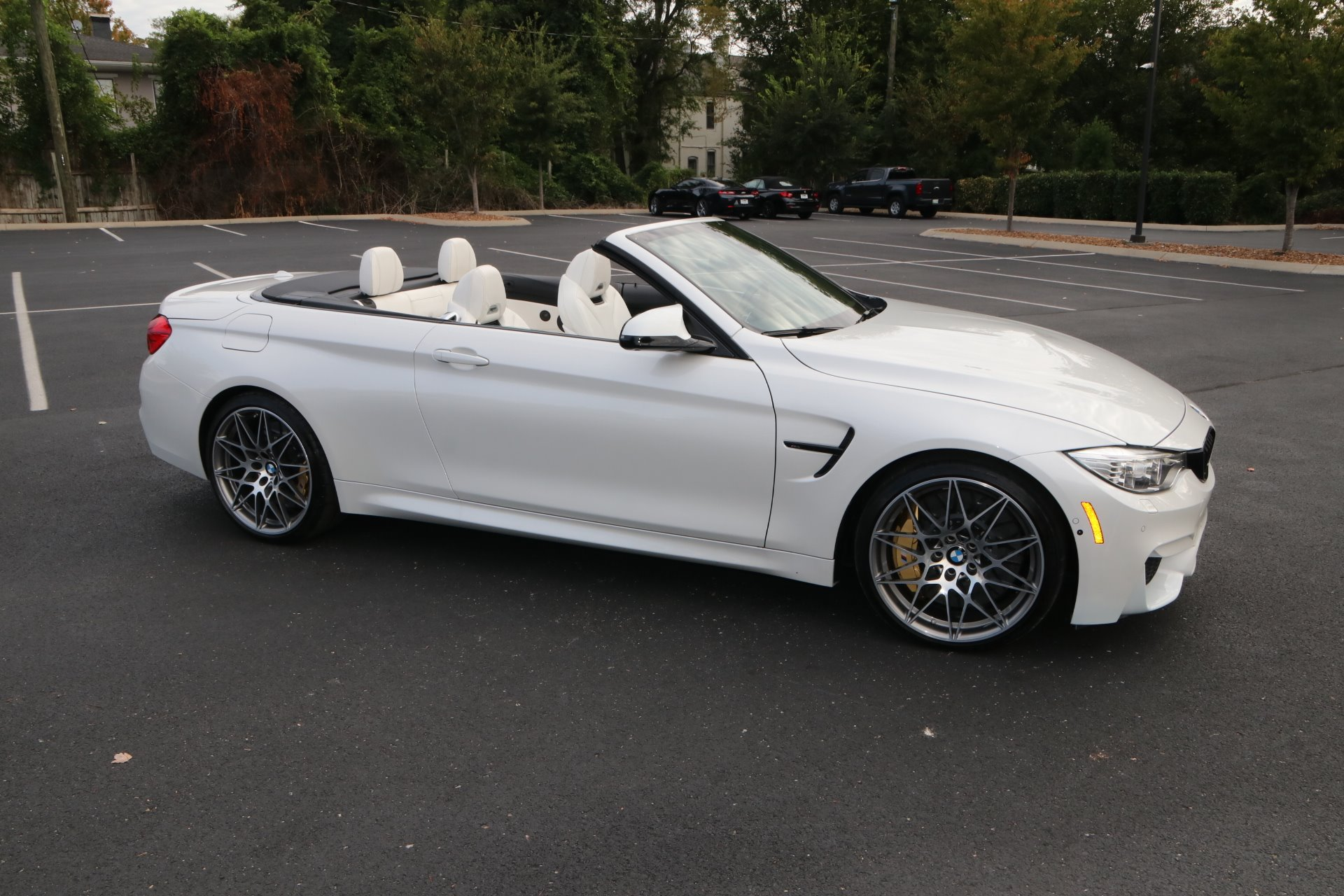 Used 2017 BMW M4 HARD TOP CONVERTIBLE COMPETITION PKG W/NAV for sale Sold at Auto Collection in Murfreesboro TN 37130 1