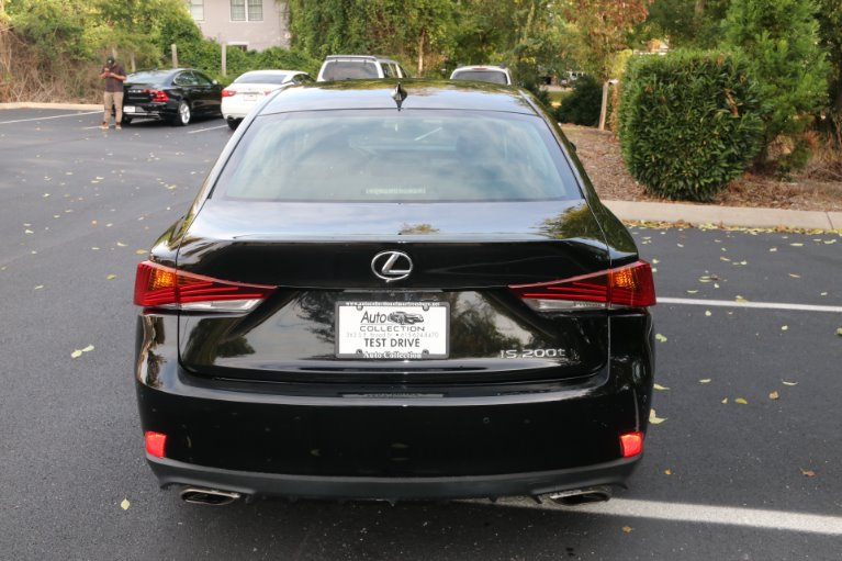 Used 2017 Lexus IS 200t RWD W/NAV for sale Sold at Auto Collection in Murfreesboro TN 37130 6