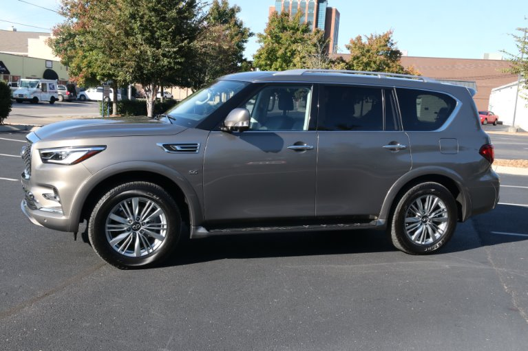 Used 2018 INFINITI QX80 4X2 W/NAV TV DVD for sale Sold at Auto Collection in Murfreesboro TN 37130 2