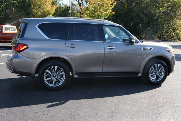Used 2018 INFINITI QX80 4X2 W/NAV TV DVD for sale Sold at Auto Collection in Murfreesboro TN 37130 3