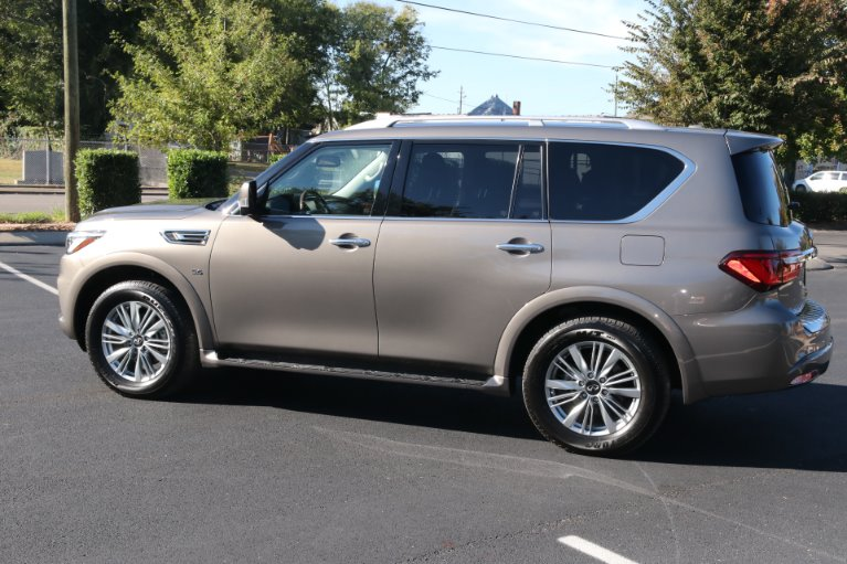 Used 2018 INFINITI QX80 4X2 W/NAV TV DVD for sale Sold at Auto Collection in Murfreesboro TN 37130 4