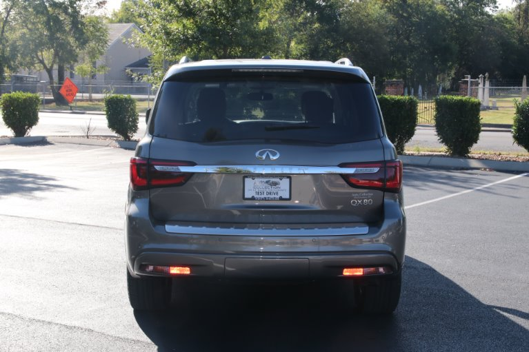 Used 2018 INFINITI QX80 4X2 W/NAV TV DVD for sale Sold at Auto Collection in Murfreesboro TN 37130 6