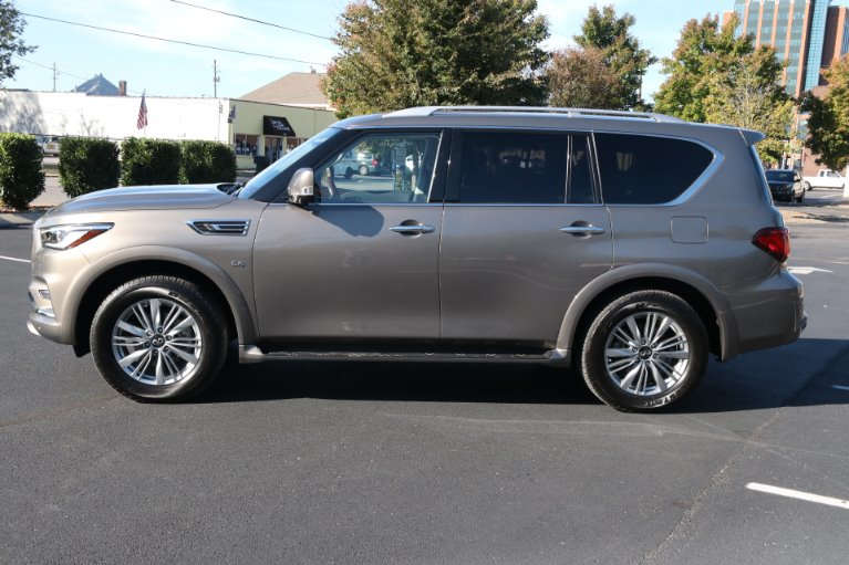 Used 2018 INFINITI QX80 4X2 W/NAV TV DVD for sale Sold at Auto Collection in Murfreesboro TN 37130 7