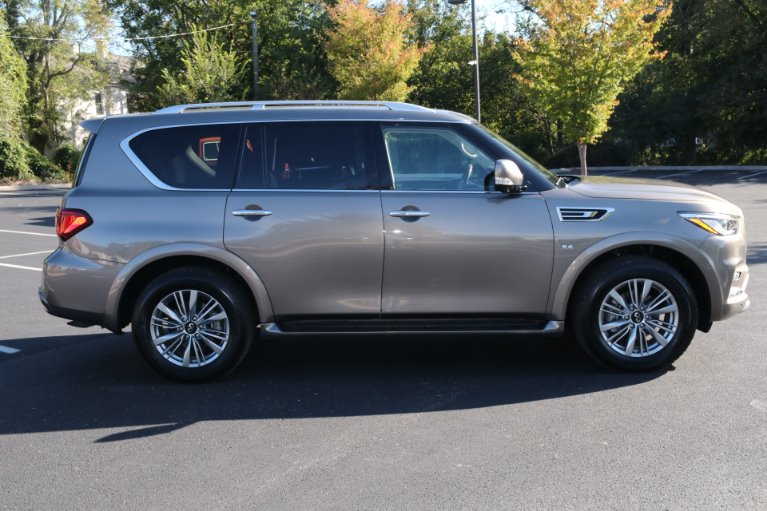 Used 2018 INFINITI QX80 4X2 W/NAV TV DVD for sale Sold at Auto Collection in Murfreesboro TN 37130 8