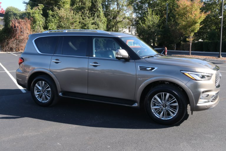 Used 2018 INFINITI QX80 4X2 W/NAV TV DVD for sale Sold at Auto Collection in Murfreesboro TN 37130 1