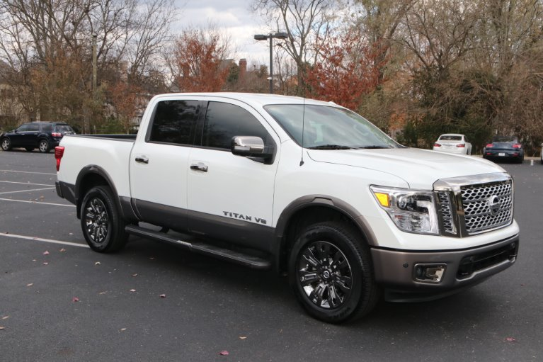 Used 2018 Nissan Titan Platinum Reserve for sale Sold at Auto Collection in Murfreesboro TN 37130 1