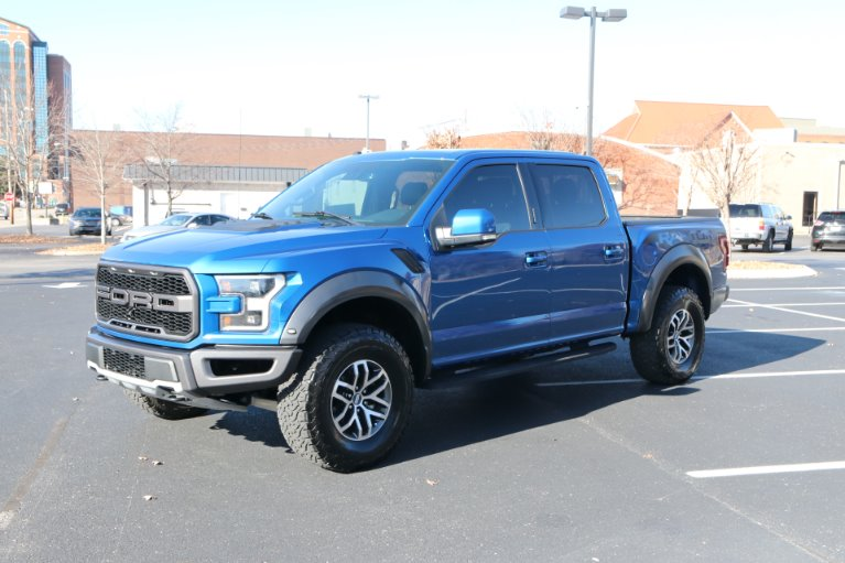 Used 2017 Ford F-150 RAPTOR CREW CAB 4X4 W/NAV Raptor for sale Sold at Auto Collection in Murfreesboro TN 37130 2