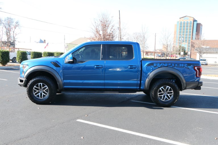 Used 2017 Ford F-150 RAPTOR CREW CAB 4X4 W/NAV Raptor for sale Sold at Auto Collection in Murfreesboro TN 37130 7