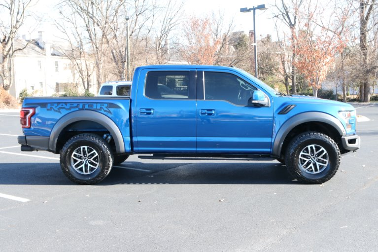 Used 2017 Ford F-150 RAPTOR CREW CAB 4X4 W/NAV Raptor for sale Sold at Auto Collection in Murfreesboro TN 37130 8