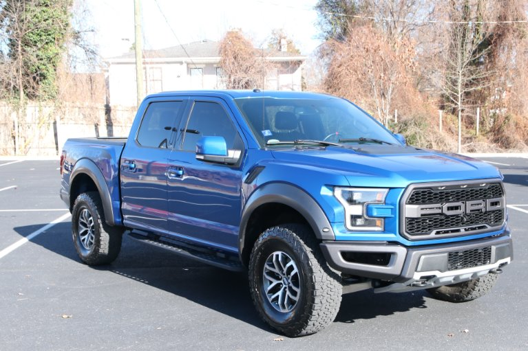 Used 2017 Ford F-150 RAPTOR CREW CAB 4X4 W/NAV Raptor for sale Sold at Auto Collection in Murfreesboro TN 37130 1