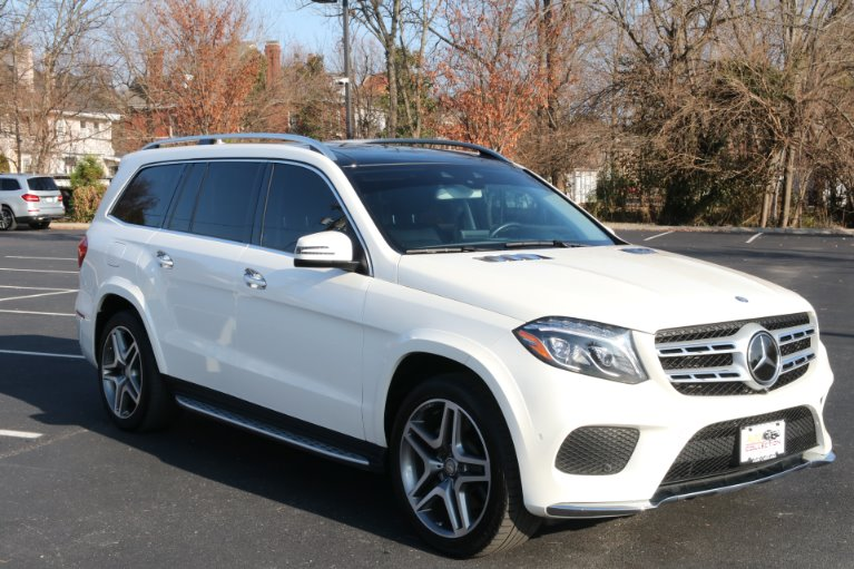 Used 2017 Mercedes-Benz GLS GLS 550 for sale Sold at Auto Collection in Murfreesboro TN 37130 1