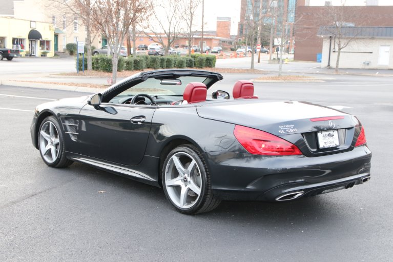 Used 2018 Mercedes-Benz SL550 ROADSTER W/NAV SL 550 for sale Sold at Auto Collection in Murfreesboro TN 37130 4
