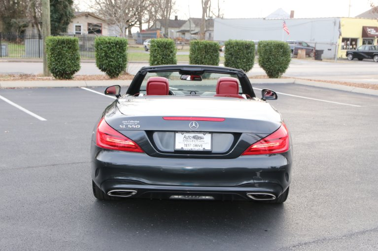 Used 2018 Mercedes-Benz SL550 ROADSTER W/NAV SL 550 for sale Sold at Auto Collection in Murfreesboro TN 37130 6
