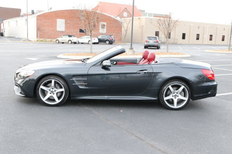 Used 2018 Mercedes-Benz SL550 ROADSTER W/NAV SL 550 for sale Sold at Auto Collection in Murfreesboro TN 37130 7