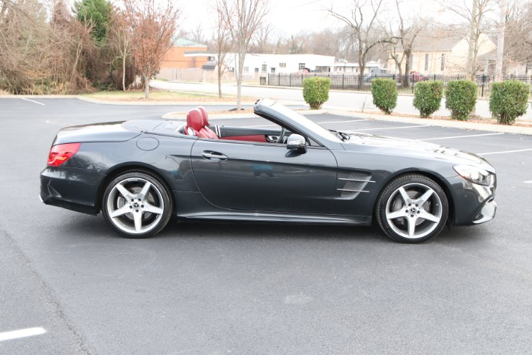 Used 2018 Mercedes-Benz SL550 ROADSTER W/NAV SL 550 for sale Sold at Auto Collection in Murfreesboro TN 37130 8