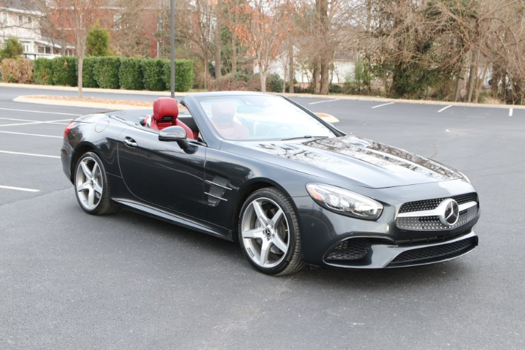 Used 2018 Mercedes-Benz SL550 ROADSTER W/NAV SL 550 for sale Sold at Auto Collection in Murfreesboro TN 37130 1