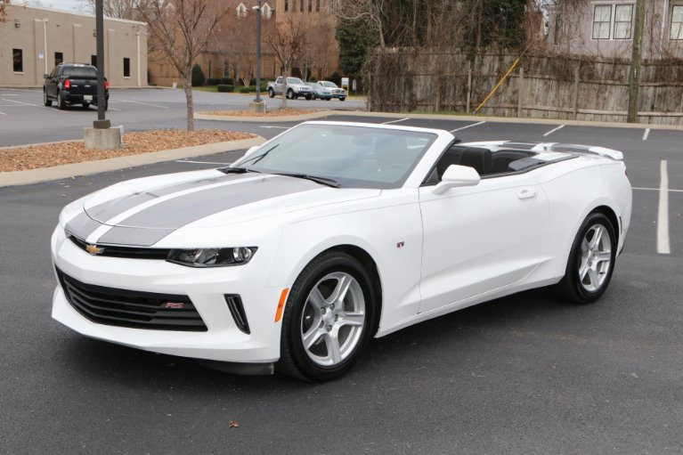 Used 2017 Chevrolet Camaro 1LT convertible LT for sale Sold at Auto Collection in Murfreesboro TN 37130 2