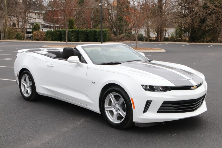Used 2017 Chevrolet Camaro 1LT convertible LT for sale Sold at Auto Collection in Murfreesboro TN 37130 1