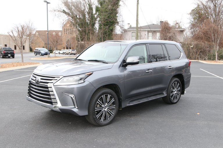 Used 2019 Lexus LX 570 LUXURY THREE ROW 4WD W/NAV Three-Row for sale Sold at Auto Collection in Murfreesboro TN 37130 2