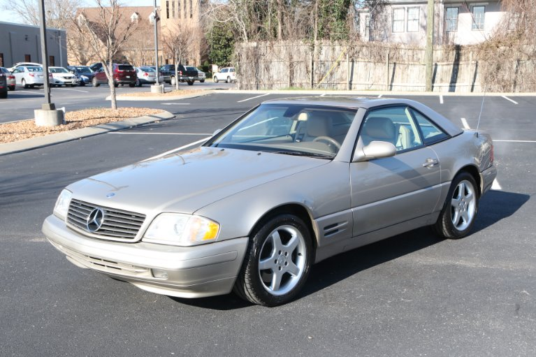 Used 1999 Mercedes-Benz SL500 ROADSTER SL 500 for sale Sold at Auto Collection in Murfreesboro TN 37130 2