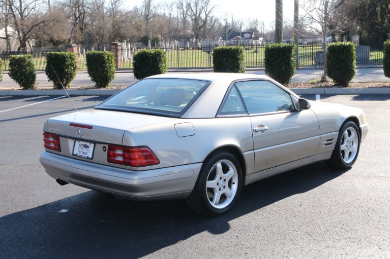 Used 1999 Mercedes-Benz SL500 ROADSTER SL 500 for sale Sold at Auto Collection in Murfreesboro TN 37130 3