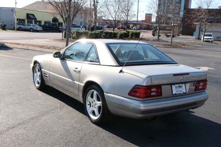 Used 1999 Mercedes-Benz SL500 ROADSTER SL 500 for sale Sold at Auto Collection in Murfreesboro TN 37130 4