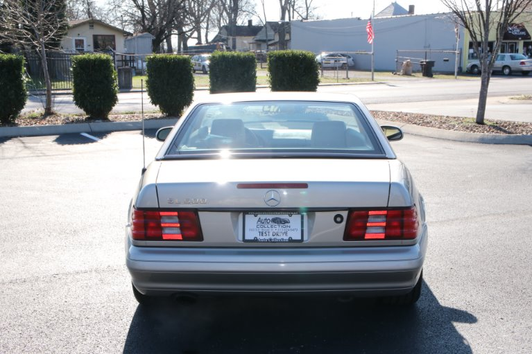 Used 1999 Mercedes-Benz SL500 ROADSTER SL 500 for sale Sold at Auto Collection in Murfreesboro TN 37130 6