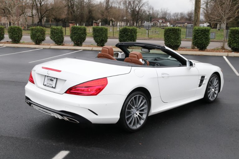 Used 2017 Mercedes-Benz SL450 ROADSTER W/NAV SL 450 for sale Sold at Auto Collection in Murfreesboro TN 37130 3