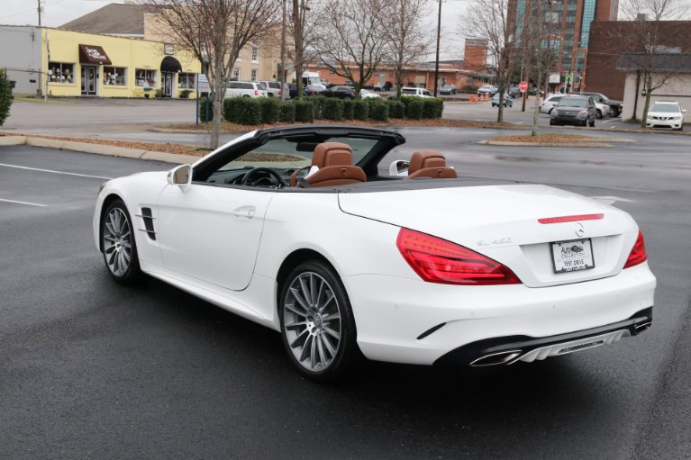 Used 2017 Mercedes-Benz SL450 ROADSTER W/NAV SL 450 for sale Sold at Auto Collection in Murfreesboro TN 37130 4