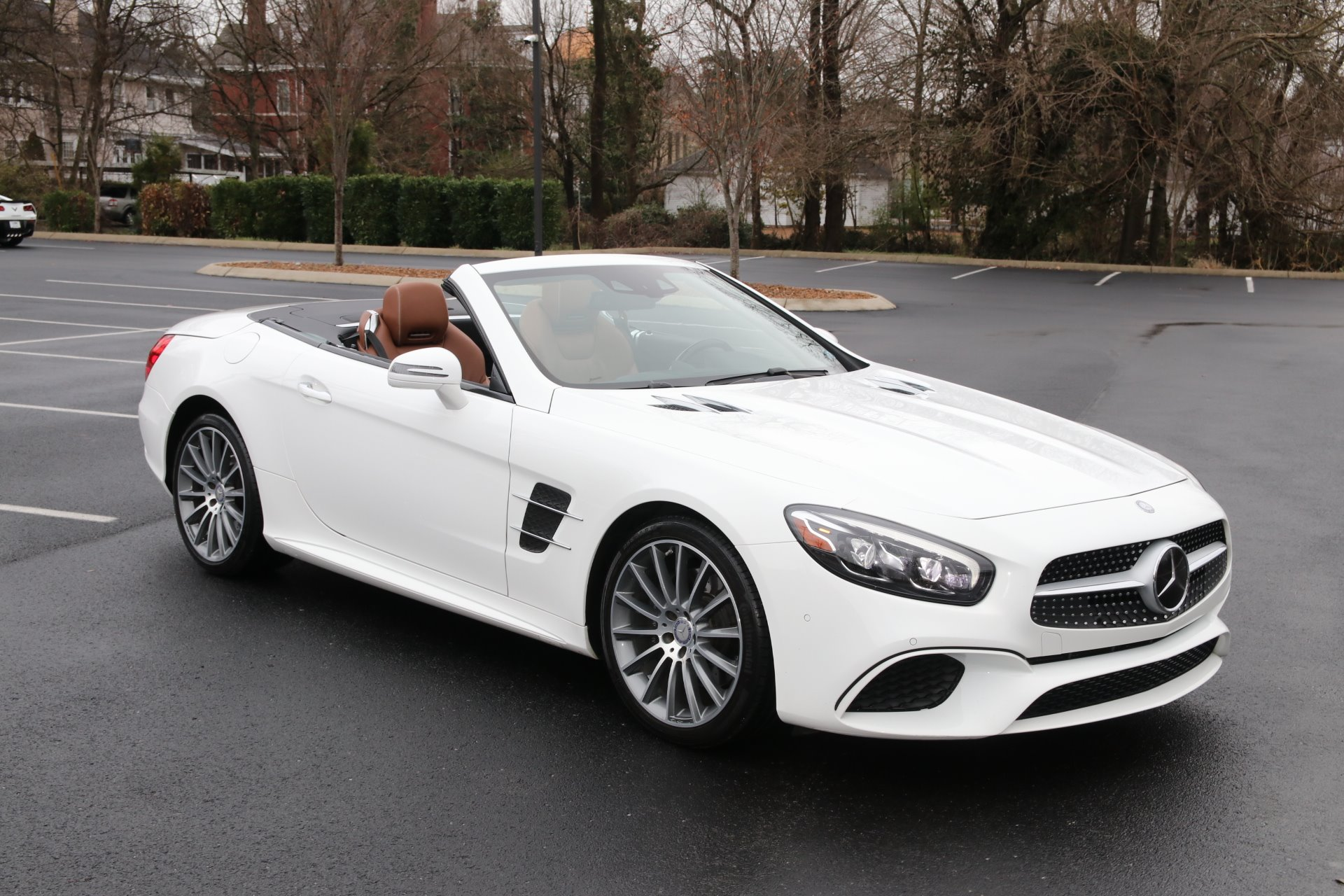 Used 2017 Mercedes-Benz SL450 ROADSTER W/NAV SL 450 for sale Sold at Auto Collection in Murfreesboro TN 37130 1